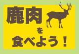 鹿肉を食べよう!